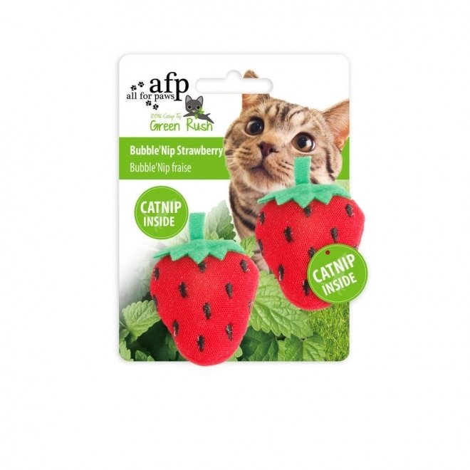 all-for-paws-bubblenip-mansikka-2-pack-