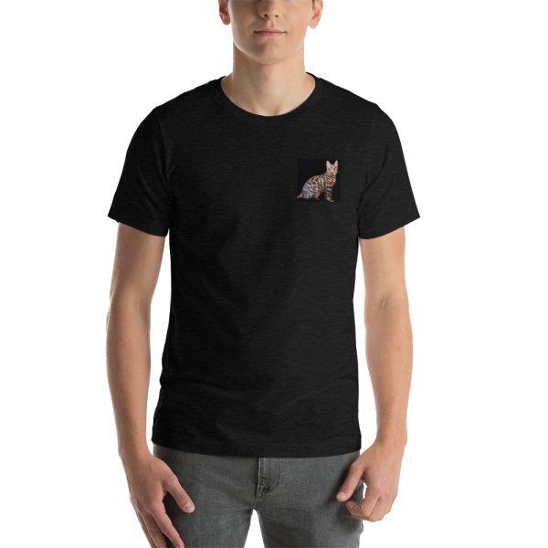 unisex premium t shirt black heather front 60c64d2fde8f8